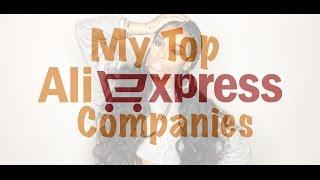 My Top Favorite Aliexpress Companies