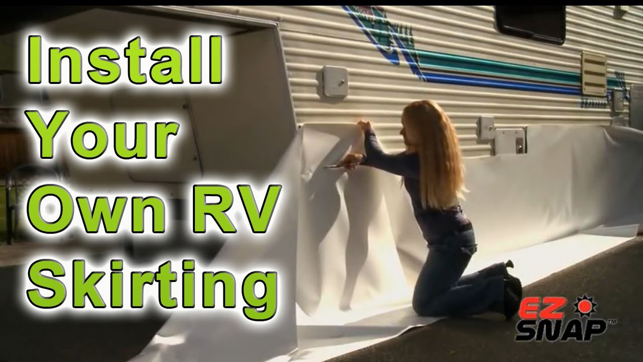 How To Skirt A Trailer 116