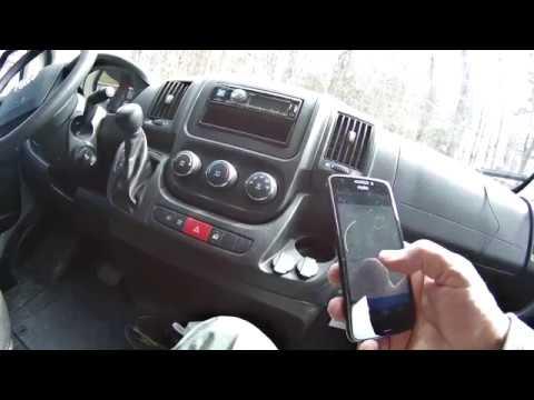 Radio Replacement in 2018 Erwin Hymer Sunlight V2 Van (Ram Promaster)