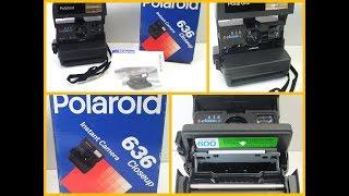 Polaroid 636 close up Instant Film Camera Auto Focus Boxed With Manual Guide VGC