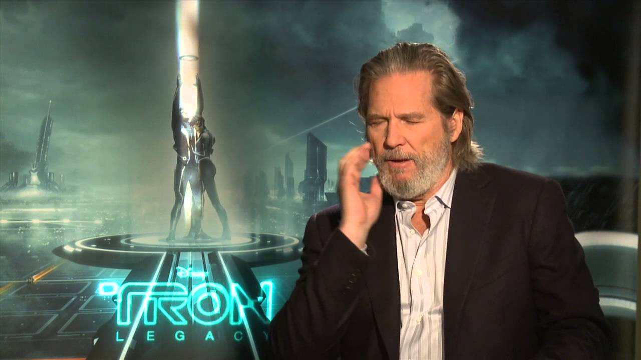 TRON Legacy: Jeff Bridges