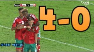 أهداف مباراة المغرب و كندا 4-0 بتعليق جواد بادة || مباراة ودية ||