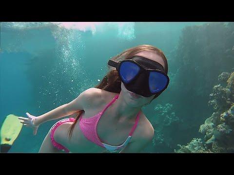 Подводные семки в Красном море Шарм, Египет 11.2016