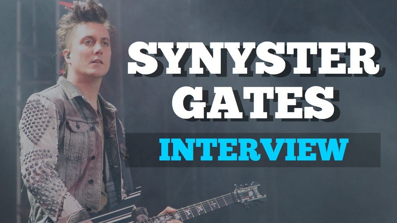 SYNYSTER GATES of AVENGED SEVENFOLD Interview | Sounding Off