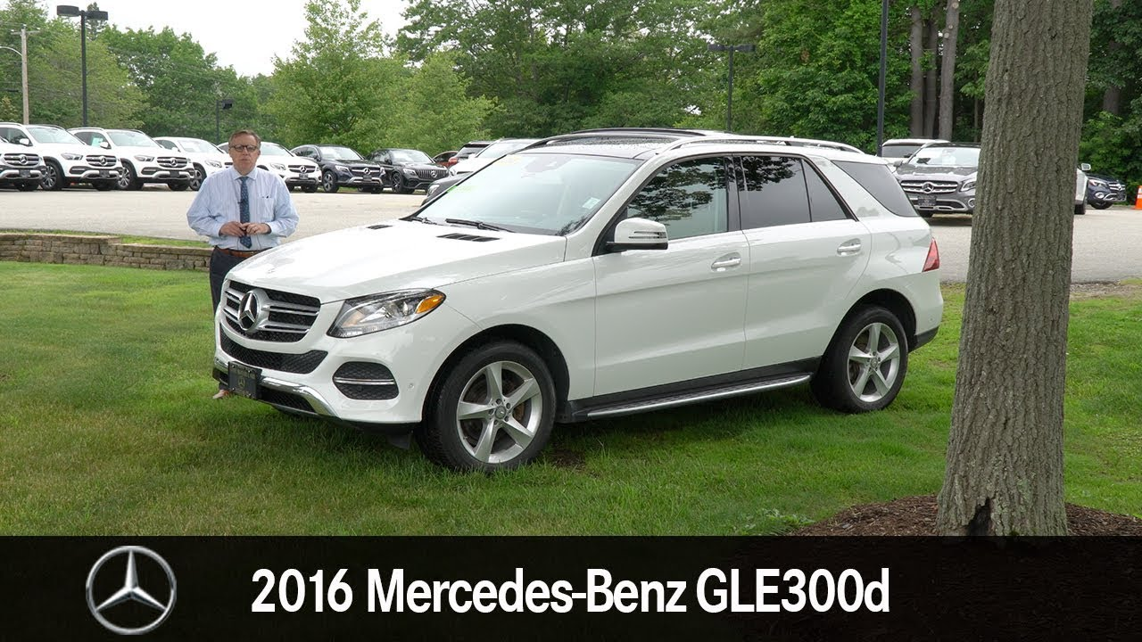 Sel 2016 Mercedes Benz Gle 300d