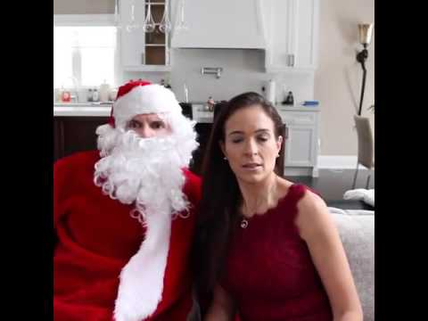 I Saw Mommy Kissing Santa Claus By EhbeeFamily