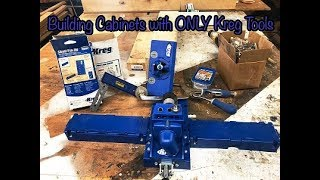 Building Cabinets With KREG Tools- Kreg Jig How-TO's