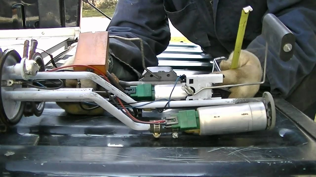 electric fuel pump modification