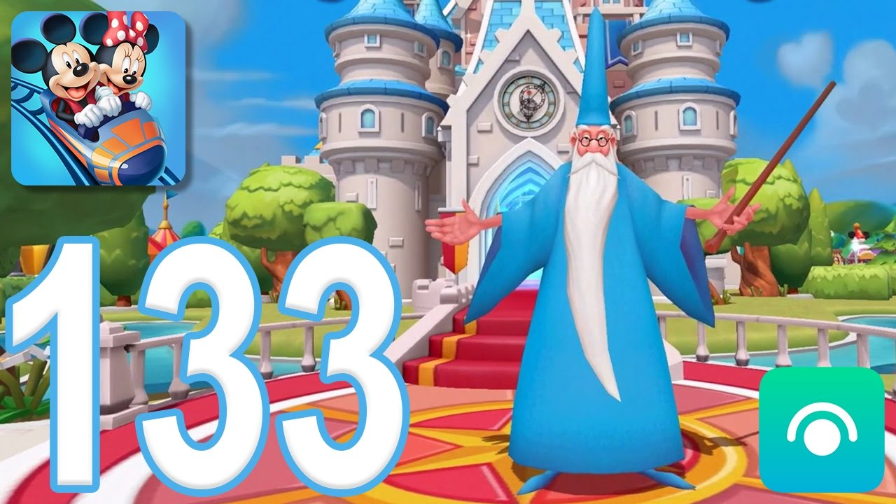 Disney Magic Kingdoms Gameplay Walkthrough Part 133 Level 34