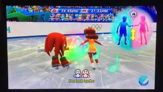 Mario & Sonic at the Sochi 2014 Olympic Winter Games Figure Skating Pairs 297