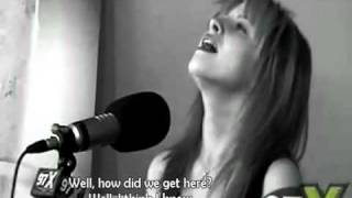 Paramore - Decode Acoustic live @ Green Room.97x +lyrics on Screen