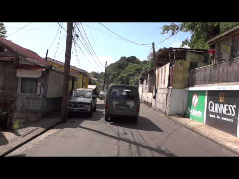 Dominica: Driving back from Scott's Head to the capital Roseau