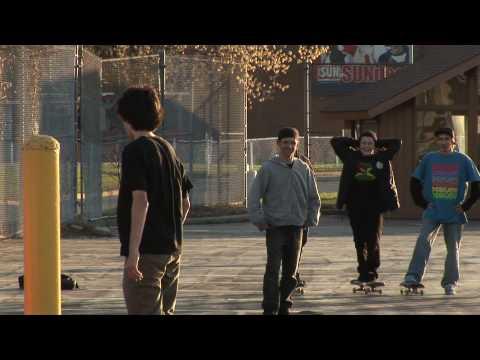 behind the scenes - skateboarding