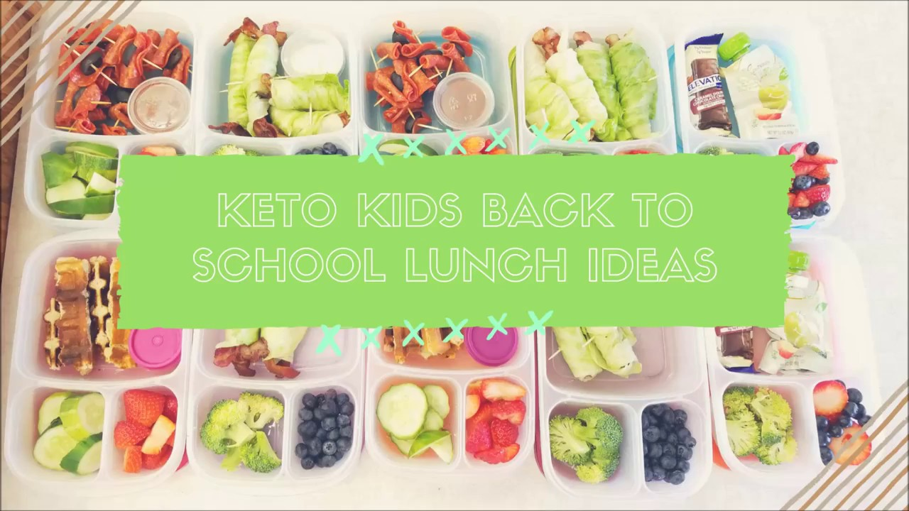 Keto Kids Back to School Lunch Ideas - low carb waffles, keto BLT dippers & ketogenic pizza ...
