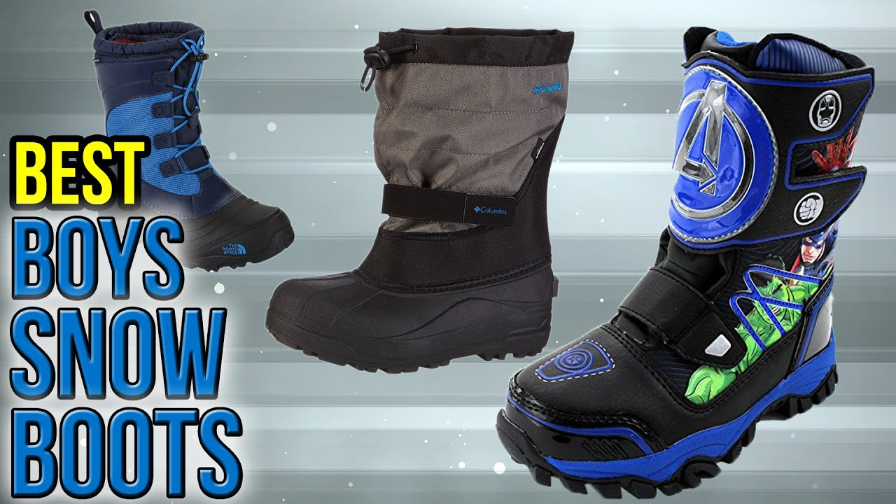 10 Best Boys Snow Boots 2017 - YouTube