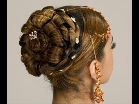 Make Best Hair Style Indian Bridal Juda Youtube