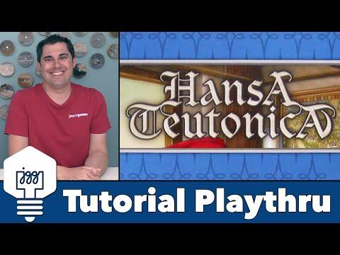 Hansa Teutonica - Tutorial Playthrough