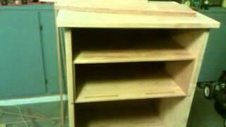 Cabinet Humidor Part 4