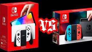 Nintendo Switch OLED Model VS Switch Basic Comparison!