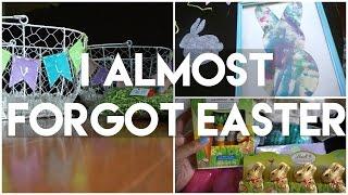 I forgot about Easter: Vlog - Easter Prep