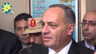بالفيديو : مساعد وزير الداخلية ومحافظ السويس ومدير أمن السويس يفتتحون مقر السجل المدني الجديد