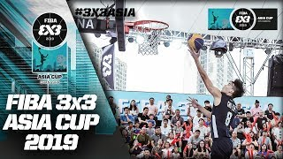 Indonesia v Chinese Taipei | Men's Full Game | FIBA 3x3 Asia Cup 2019