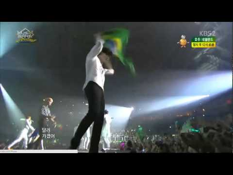 140618 All Artists - Ending @Music Bank in Brazil