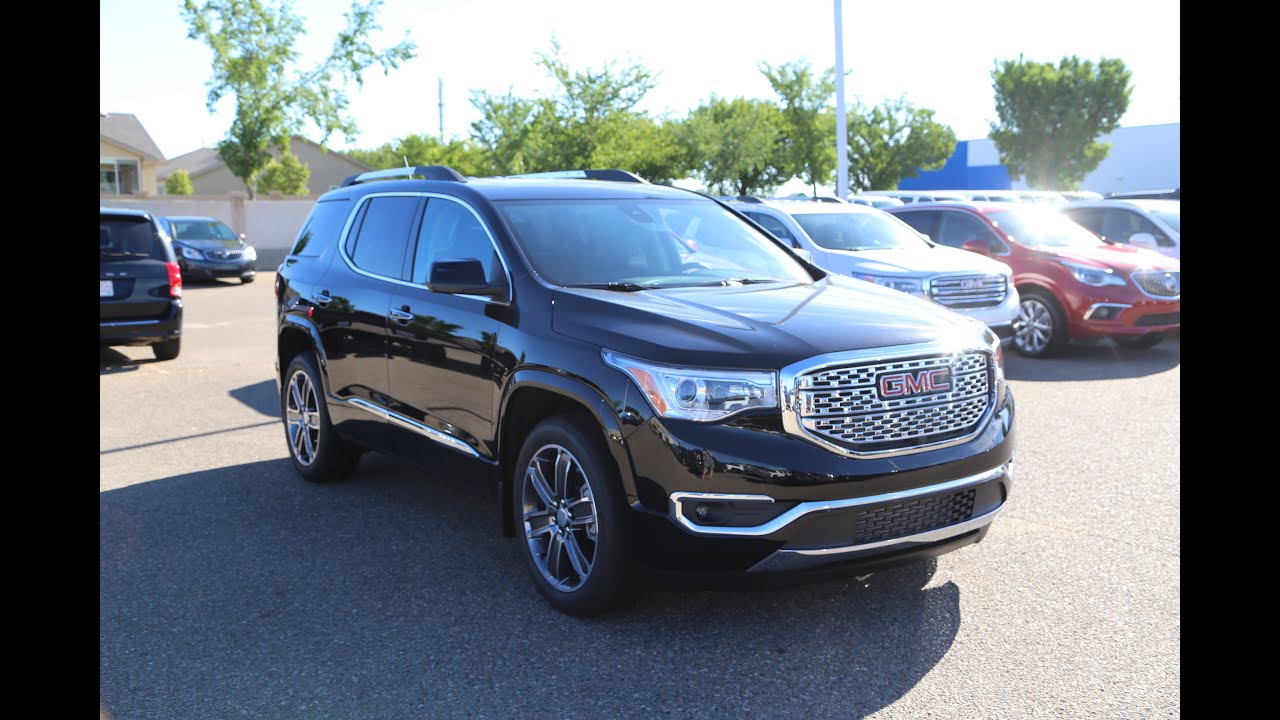 Gmc Acadia Denali For Sale >> Brand New 2017 Gmc Acadia Denali For Sale In Medicine Hat Ab
