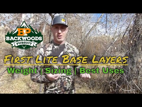 First Lite Base Layer Review - First Lite Layering System: First Lite Gear Review
