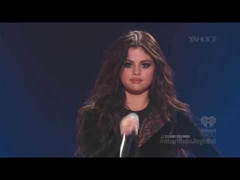 Selena Gomez iHeartRadio  (Full live Performance)