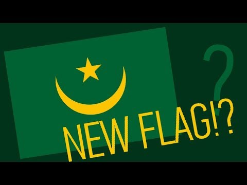 Quick Fun Facts: #1 - Mauritania's new flag!