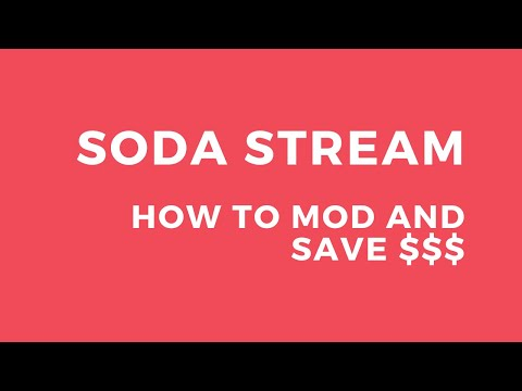 SODASTREAM FIZZI REVIEW | SODAMOD ADAPTER | TIPS AND TRICK ON HOW TO SAVE $$$ ON SPARKLING WATER