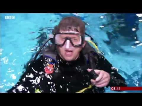 BBC Breakfast Scuba Feature with Mike Bushell