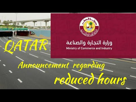 Qatar MOCI Has Listed  The  Decision Of Working Hours