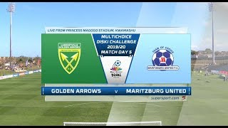 MultiChoice Diski Challenge | Golden Arrows vs Maritzburg United
