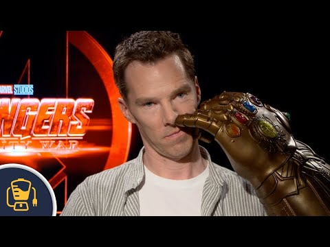 Watch The Avengers: Infinity War Cast Go Nuts When Given Thanos' Infinity Gauntlet