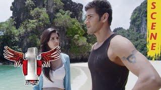 Mahesh Babu And Kriti Sanon In A Island - 1 Nenokkadine Movie Scenes