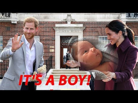 Photos of the new royal baby boy