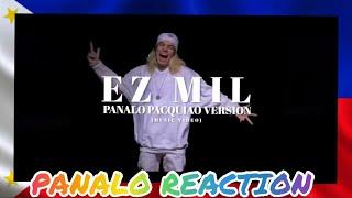 Ez Mil- Panalo (pacquiao Version) (Office Video) {Reaction} 🙌🏾❤️🇵🇭
