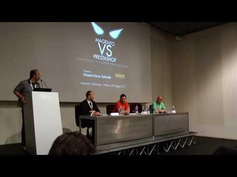 Magento vs. Prestashop al Netcomm eCommerce Forum