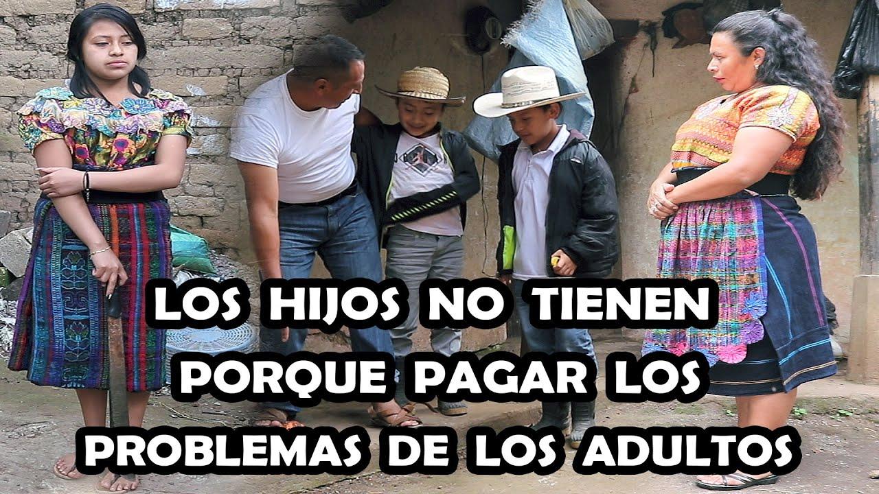 LOS  HIJOS  NO  TIENEN PORQUE  PAGAR  LOS  PROBLEMAS  DE  LOS  ADULTOS Reflexión Mira este video