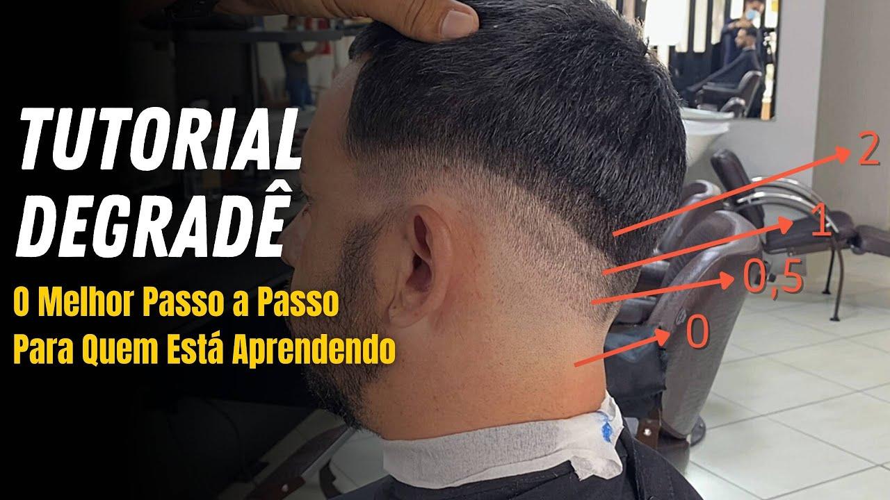💈 INCRÍVEL PASSO A PASSO - DEGRADÊ MASCULINO / com Farley Santiago