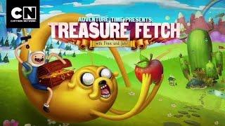 Cartoon Network | Adventure Time: Treasure Hunt | Anwendung | 2014