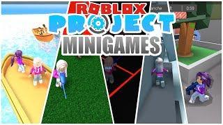 Roblox: ¡Proyecto Minijuegos / BLOXING NUESTRA MANERA A TRAVES DE JUEGOS EPICOS!