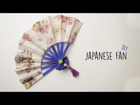 Japanese Fan | How to make a Japanese Hand Fan