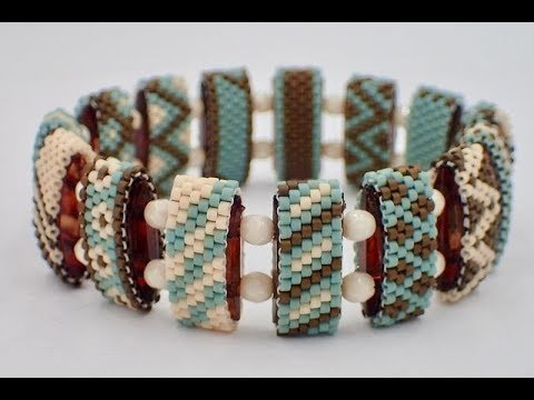 Even Count Peyote Stitch Carrier Beads