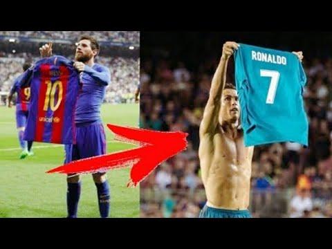 Ronaldo Meniru Selebrasi Messi Sekaligus Menyindir - Barcelona vs Real Madrid 1-3 Super Cup