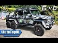 Mercedes G63 AMG 6X6 SOUND DRIVE & LOOKS by AutoTopNL