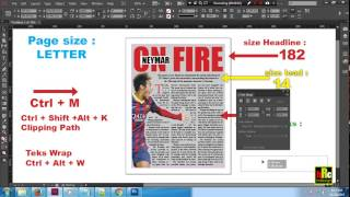 How To Make A Magazine In Indesign Very Easy (Part 2)