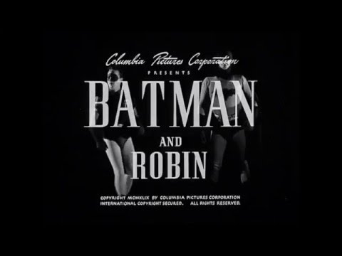 1949 Batman and Robin Movie